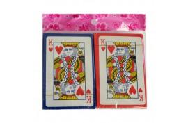 Spielkarten Plastik (2 x 55)