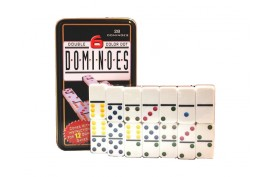 Domino in Metallpackung