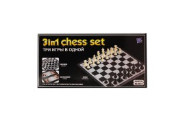 Brettspiel 3 in 1 Schach Magnet